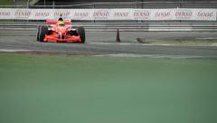 Stock Video Footage of Acceleration Grand Prix Formula A1 championships