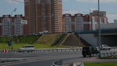 Moscow road Stock Footage