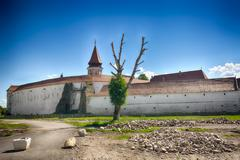 The Prejmer fortified church (Romanian: Biserica fortificat? din Prejmer; Ger - stock photo