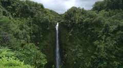 Akaka Falls Big Island Hawaii Stock Footage