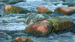 Rushing river Stock Footage