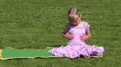 Little Princess Stock Footage