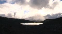 Mystic Mauna Kea Lake Waiau Stock Footage