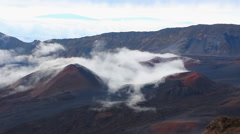 Haleakala in Maui, Hawaii 1080p 084 Stock Footage