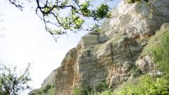English Cliffs Dover Cliffs (White rocks) Stock Footage