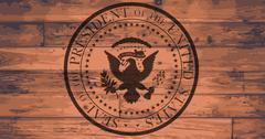 Presidential Seal Brand - stock illustration