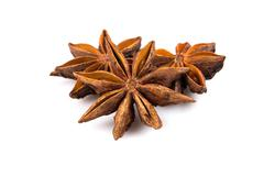 Stars anise - stock photo