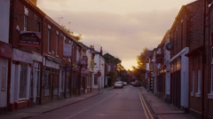 Sunrise in the UK - stock footage
