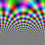 Fanfare in Neon Lights - stock illustration
