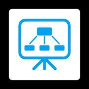 Scheme Screen Icon - stock illustration