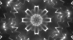 VJ Background Silver Motion With Fractal Design. Stock Footage