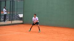 Tennis Match Stock Footage