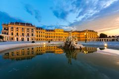 Stock Photo of Schonbrunn Palace