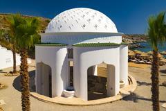 Kallithea Springs on the Island of Rhodes - stock photo