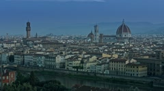 Sunrise in Florence Timelapse - stock footage