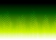 Bright green abstract shiny background - stock illustration