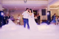 first wedding dance - stock photo