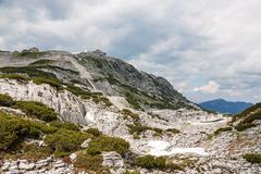 Dachstein Summit Station - stock photo