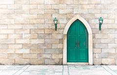 Arabic door Stock Photos