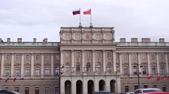 St. Petersburg City Council Stock Footage