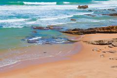 Atlantic coast in Portugal Stock Photos
