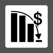 Epic Fail Icon - stock illustration