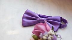 Wedding Accessories Stock Footage
