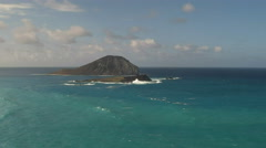Rabbit island hawaii Stock Footage