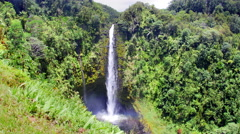 Akaka Falls Hawaii Stock Footage
