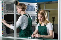The hardworking women Stock Photos