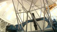 Gemini Telescope In Operation Stock Footage