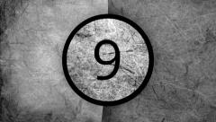 Countdown 10-0 Stock Footage