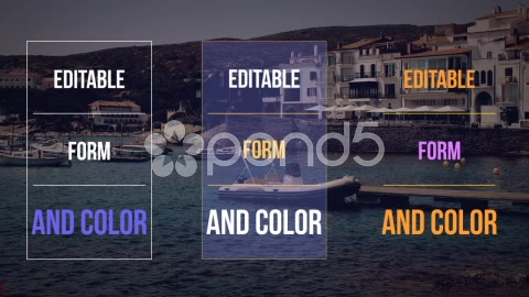 After Effects Project - Pond5 vertical lower thirds 53447139