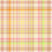 Seamless colorful gingham pattern - stock illustration