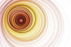 Endless tunnel. Radio waves. Divergent ripples. - stock illustration
