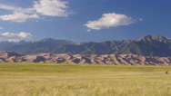 Stock Video Footage of 4K time lapse of the Great Sand Dunes in Colorado