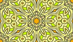 Seamless abstract tribal pattern. Hand drawn ethnic texture, vector illustrat Stock Illustration
