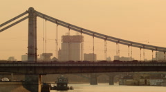 Crimean Bridge - stock footage