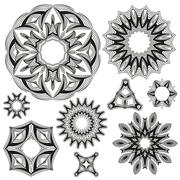 Stock Illustration of Floral Ornament Pattern