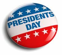 Presidents' Day USA Stock Illustration