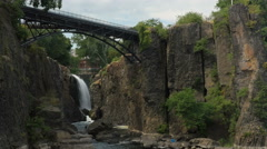 Paterson Great Falls Stock Footage