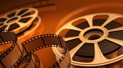 Stock Illustration of reel with tape