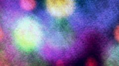 Abstract Color Forms Circulars moving Stock Footage