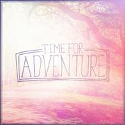 Time for Adventure - stock illustration