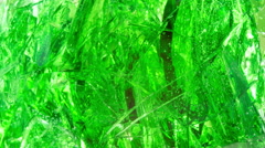Green abstract moving background. - stock footage