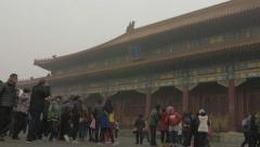4K Forbidden City China Stock Footage