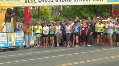 Start of Race Stock Footage