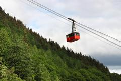 Aerial Tramway - stock photo