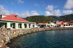 St. Thomas Island - stock photo