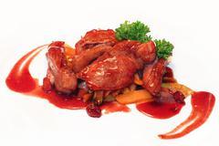 Duck Dish - stock photo